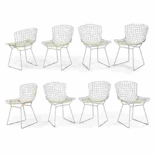 Harry Bertoia / Knoll Bertoia Side Chair, eight