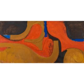 Fritz Bultman, Wave, 1967, oil on linen
