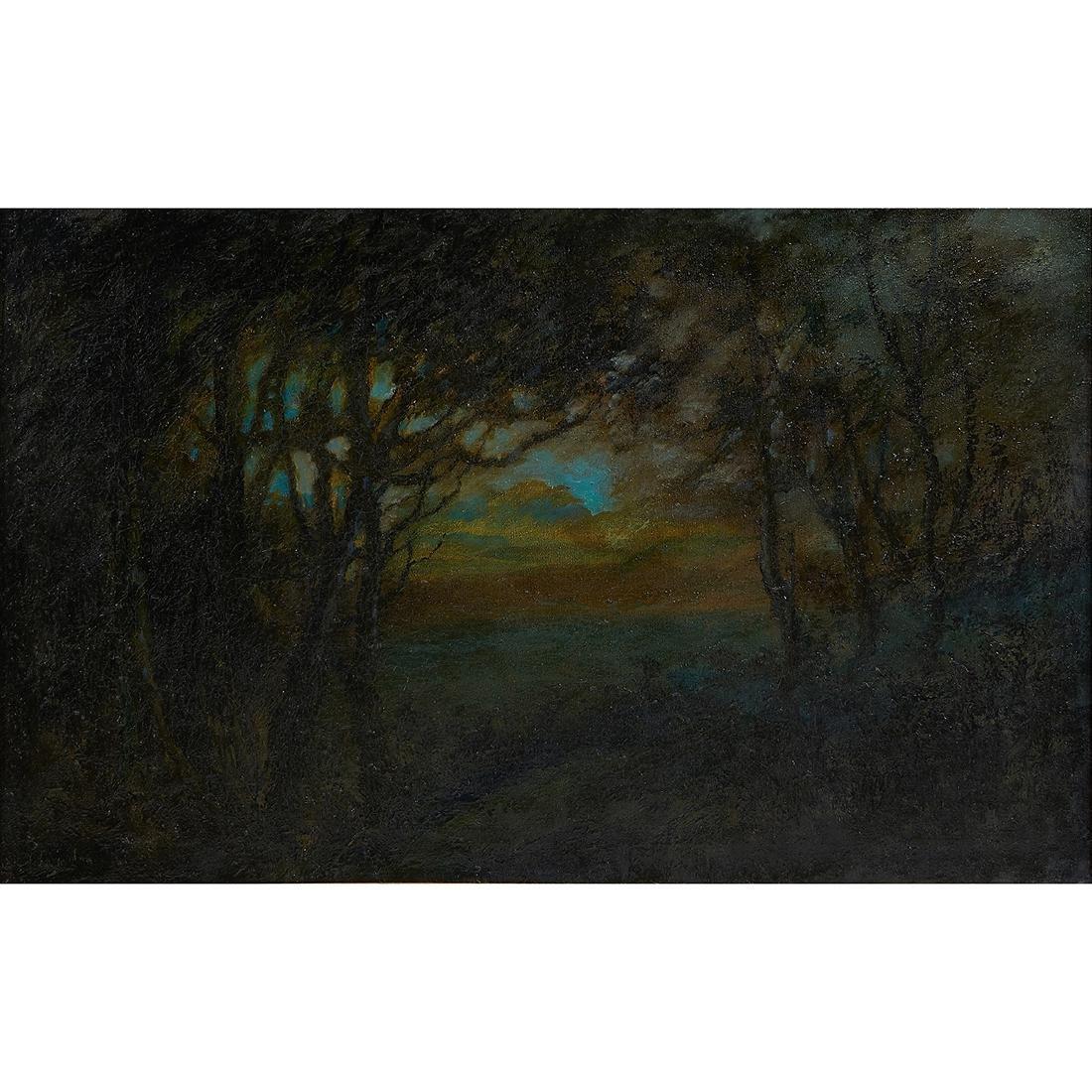 Alfred Hetherington, Landscape, oil on canvas