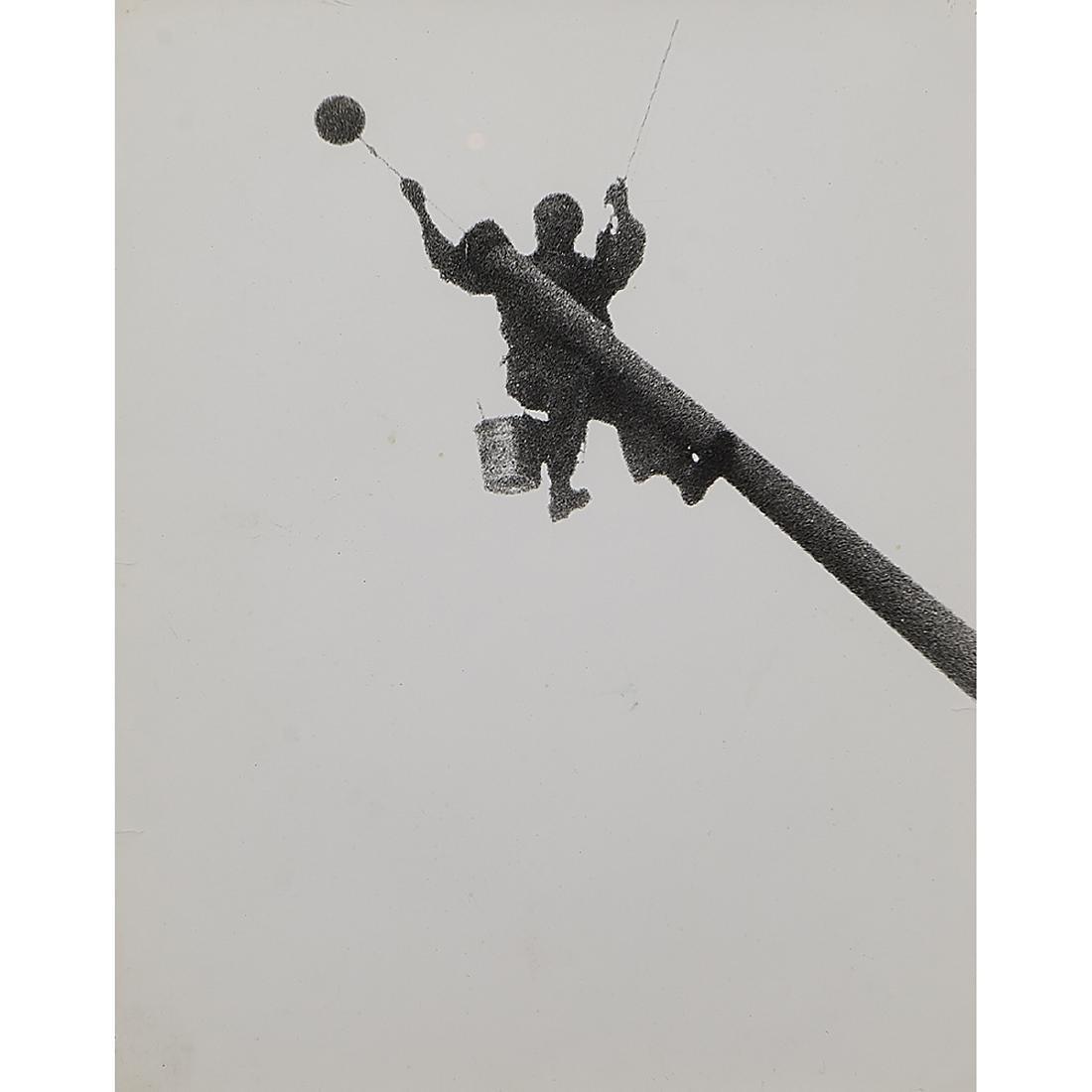 (Weegee) Arthur Fellig, Flagpole Distortion