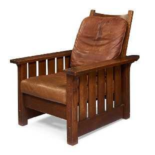 Gustav Stickley Morris Chair 332