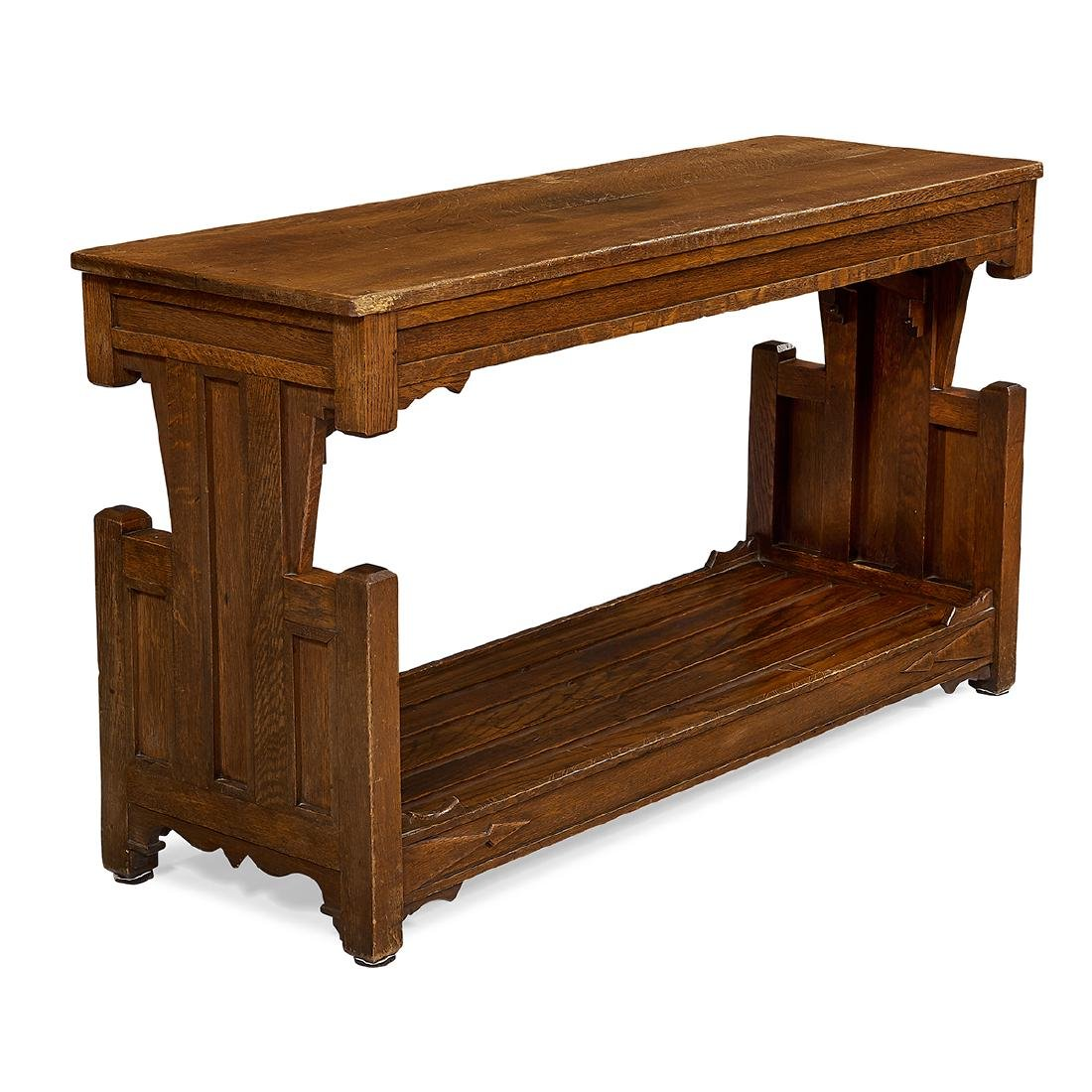 American Arts & Crafts console table