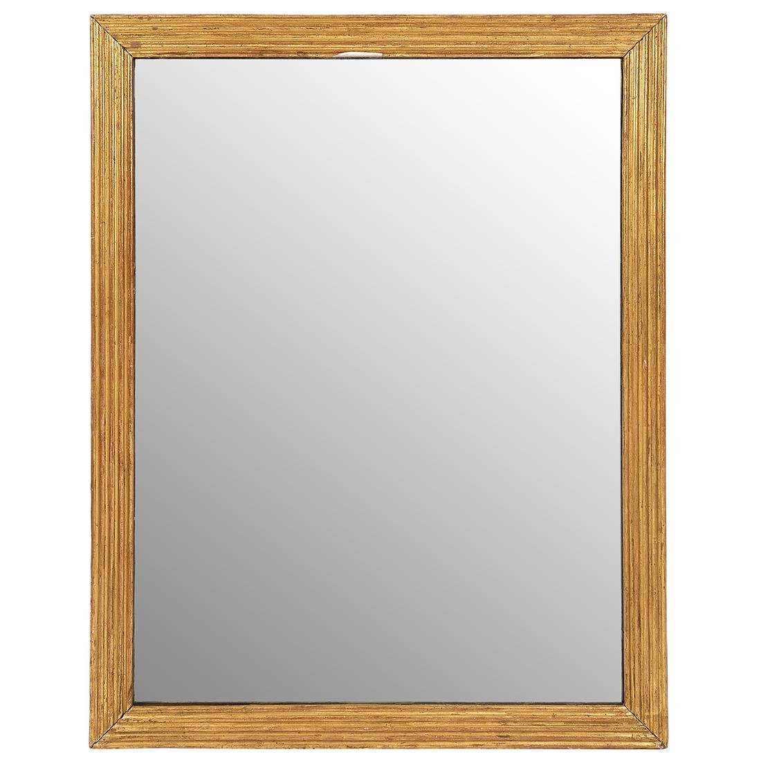Empire Style rectangular wall mirror