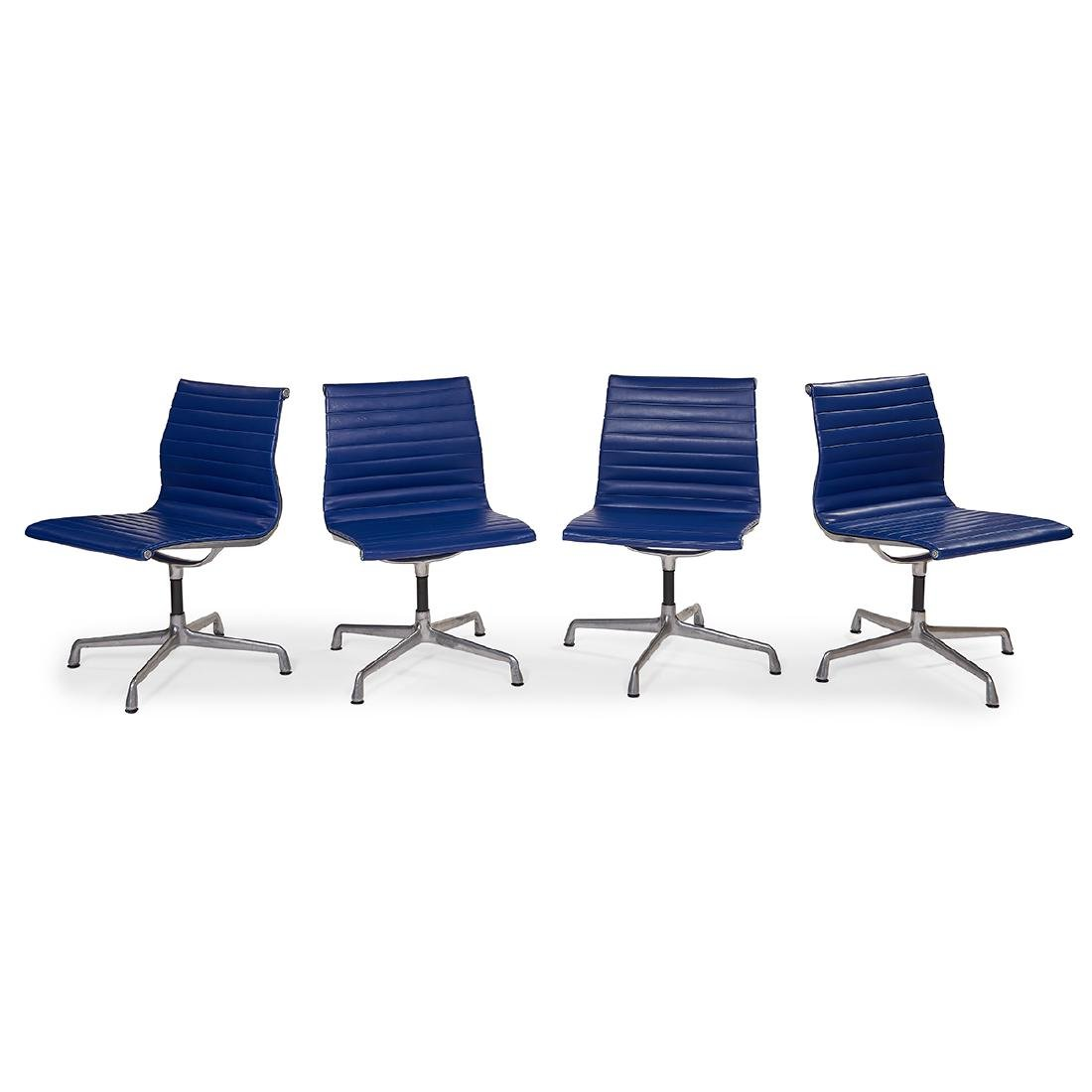 Eames Herman Miller Alum Group chairs, four