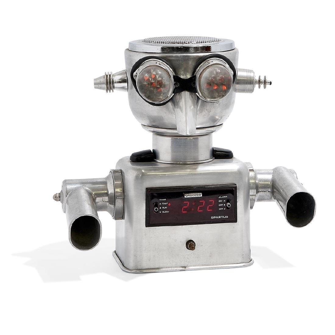Clayton Bailey robot alarm clock