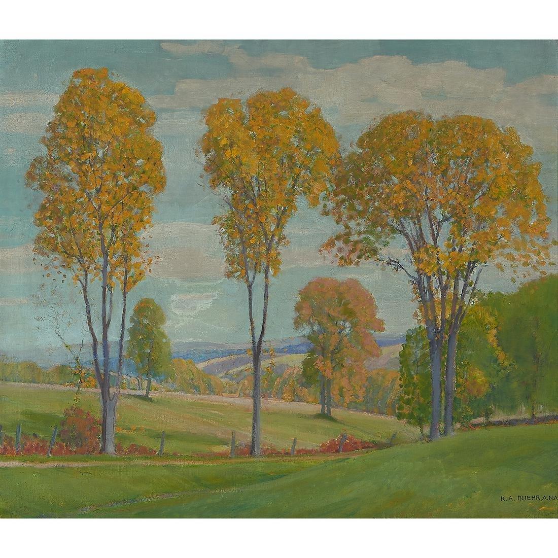 Karl Albert Buehr Landscape, oil on canvas