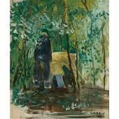 Aaron Bohrod The Gardeners 1933