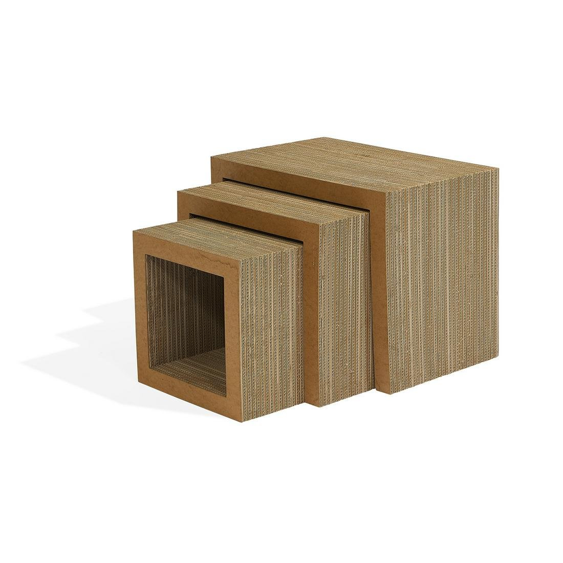 Frank Gehry for Vitra Easy Edges nesting tables