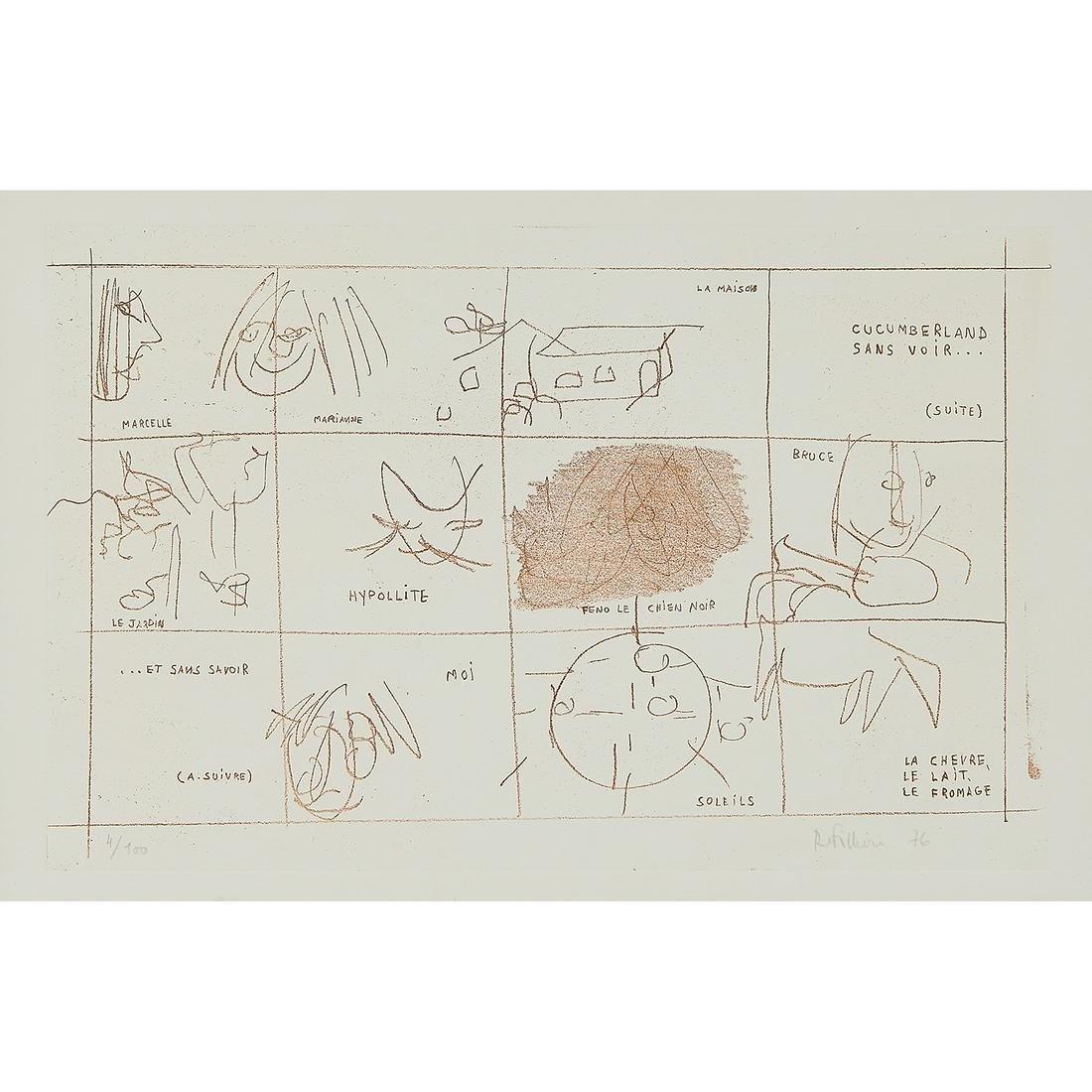 Robert Fillion, Cucumberland, color lithograph