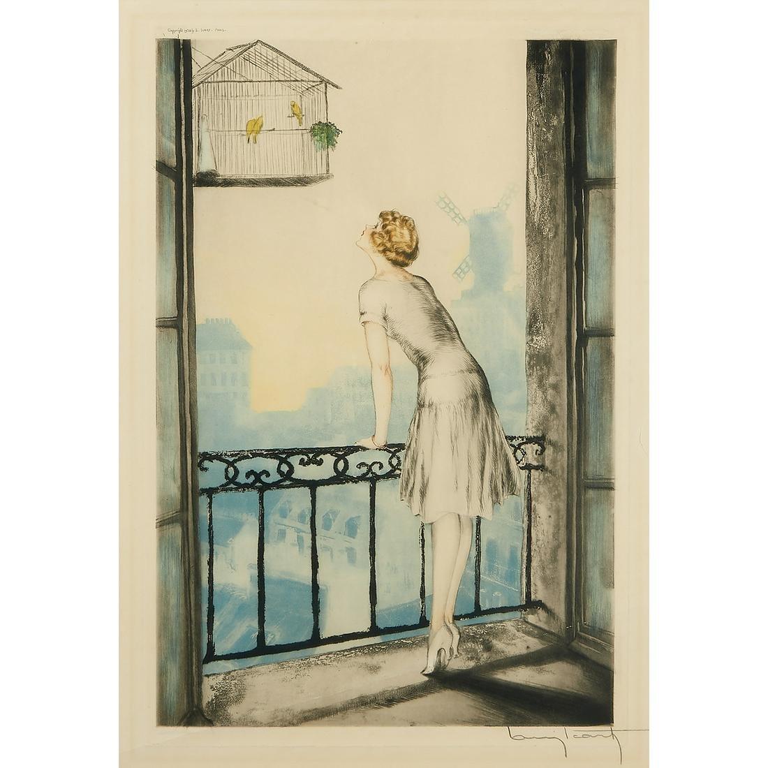 Louis Icart, Montmartre, 1928