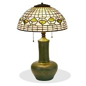 Hampshire Pottery lamp base