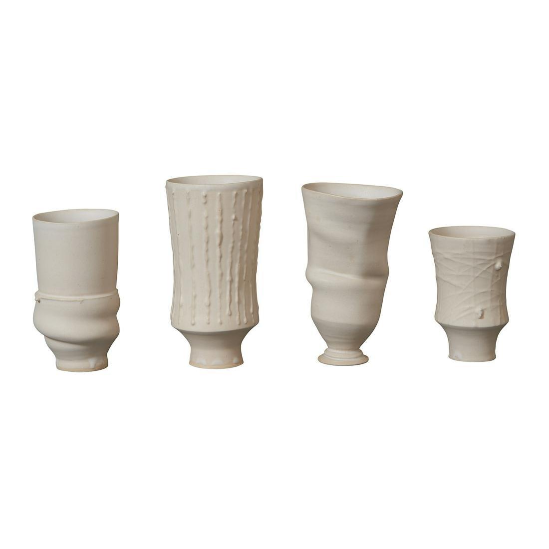 Studio Pottery four pieces