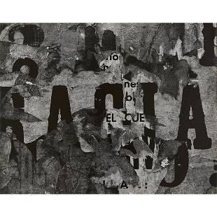 Aaron Siskind, San Luis Potosi, Mexico 16, 1961