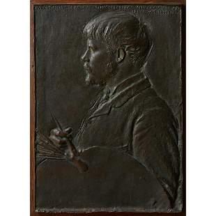 Augustus Saint-Gaudens, Portrait of Jules Lepage