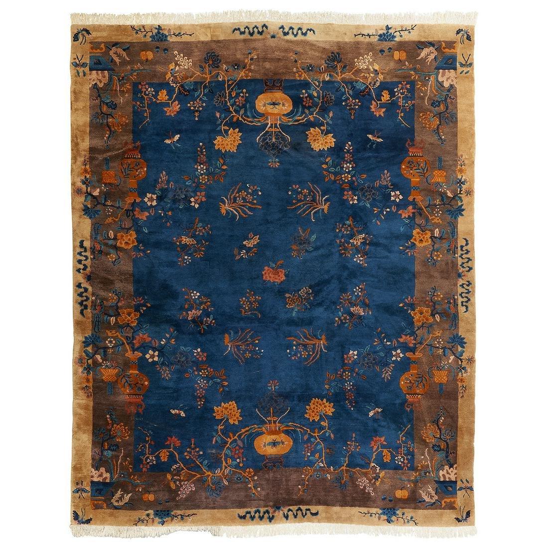 "Art Deco rug 11' 4 1/4"" x 9' 1/4"""