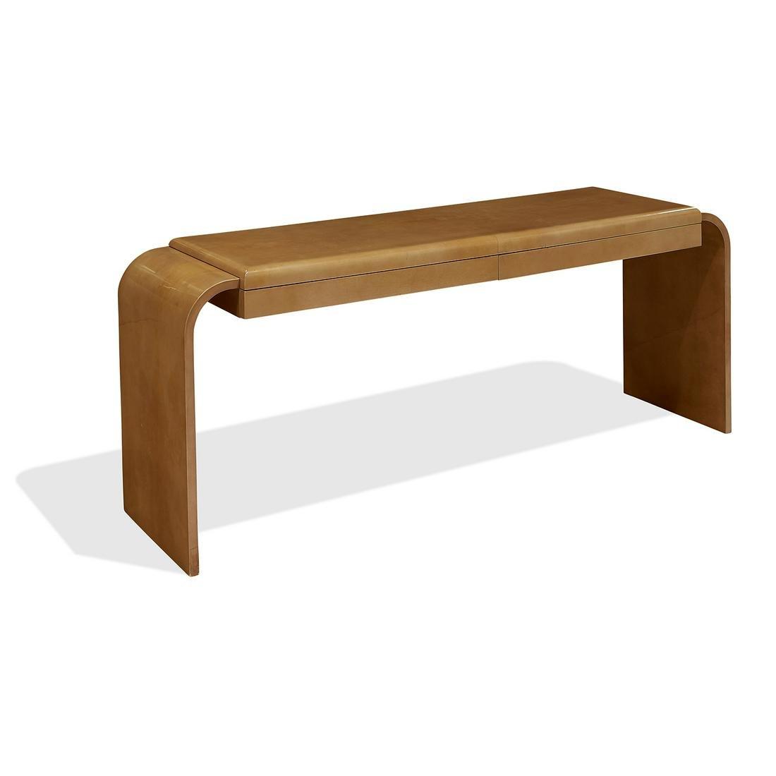 Aldo Tura console table