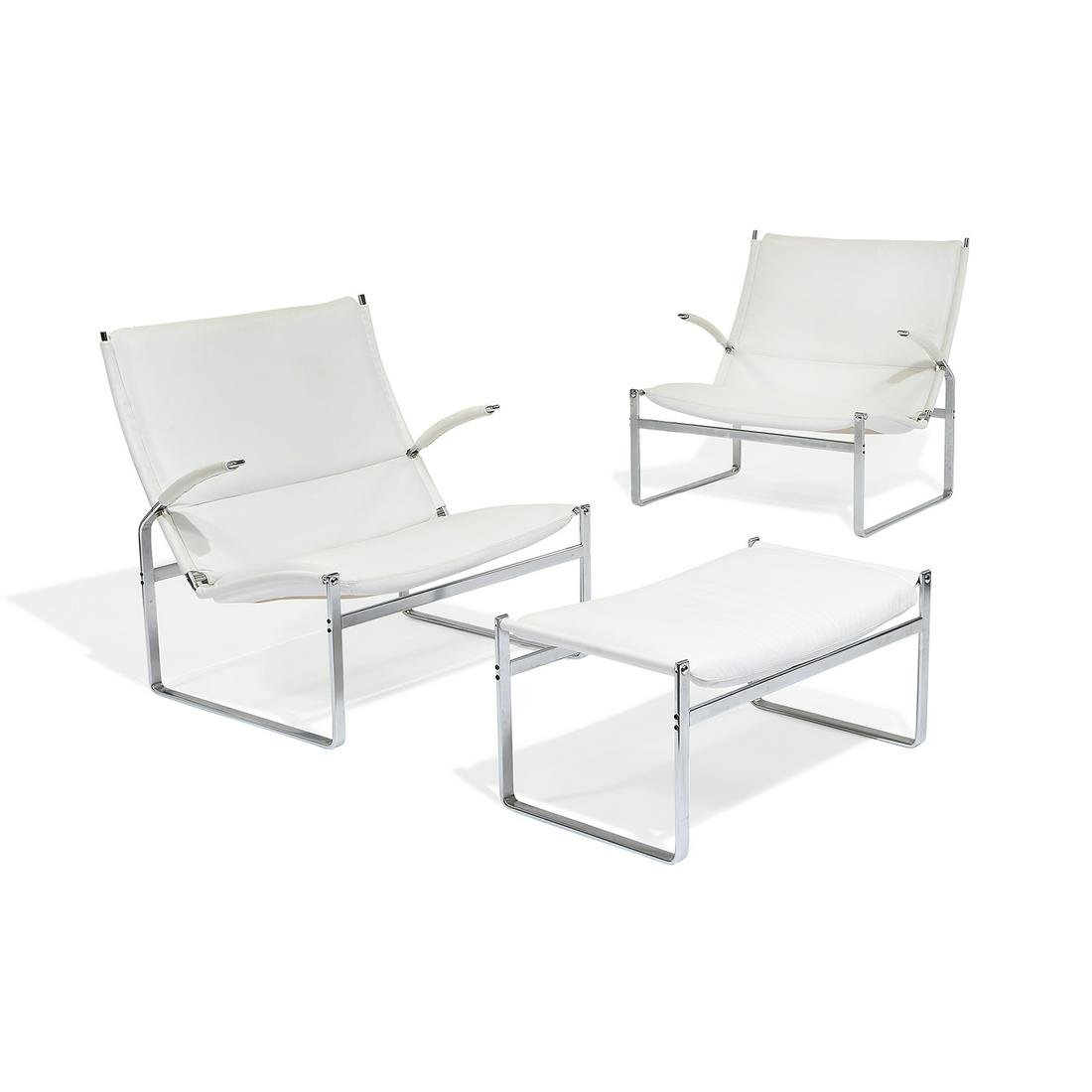 Preben Fabricius & Jørgen Kastholm chairs