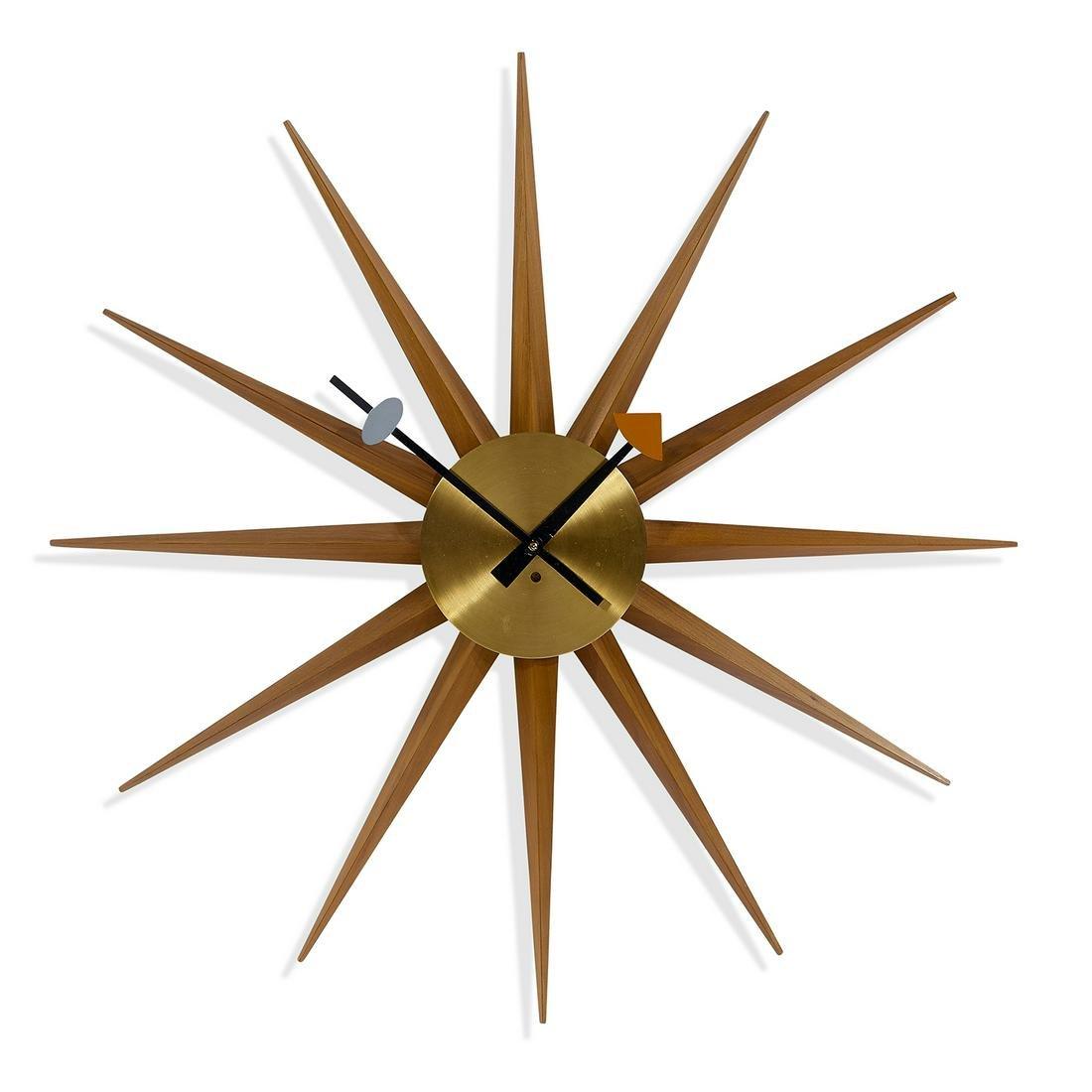 George Nelson for Howard Miller Spike clock