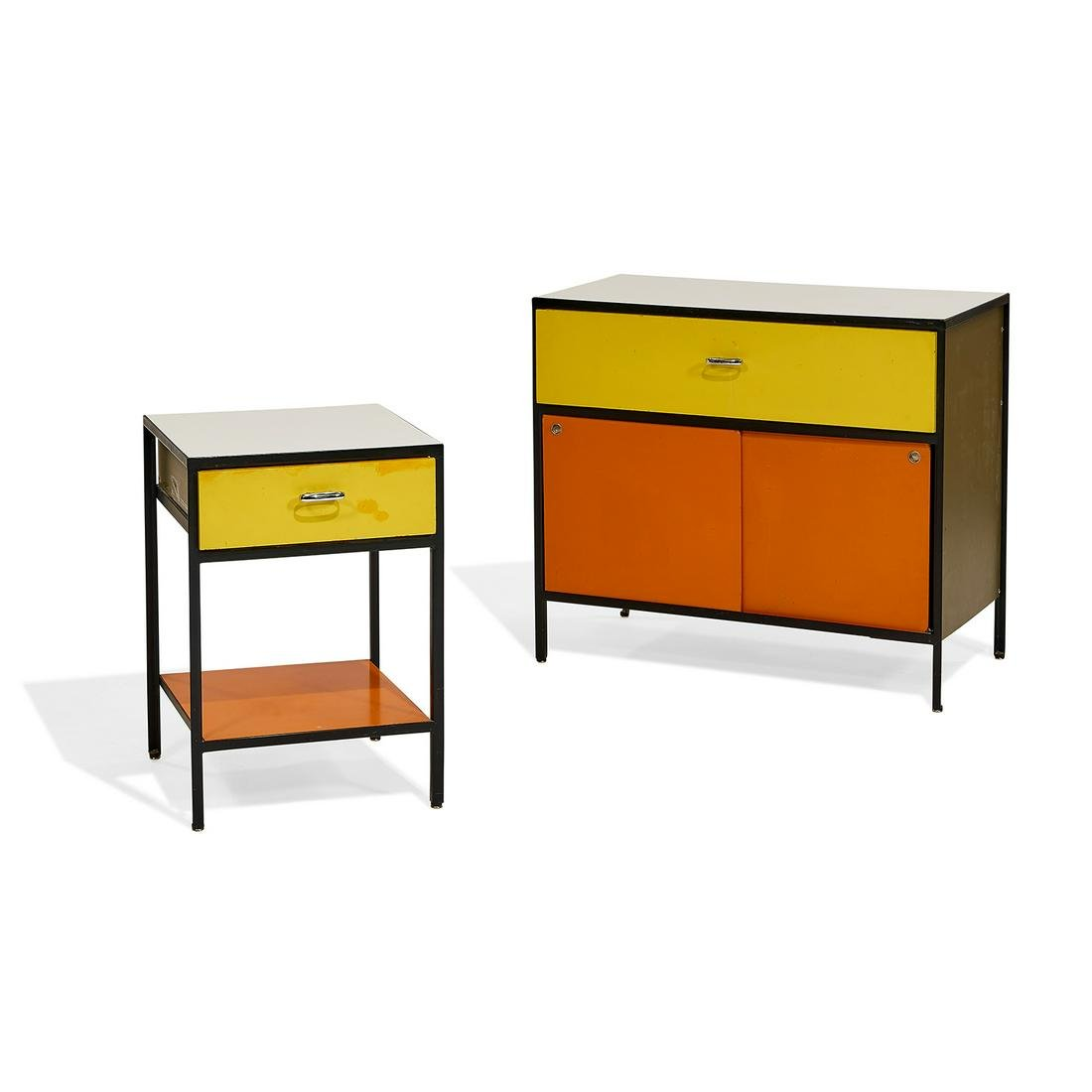 George Nelson for Herman Miller cabinet and...