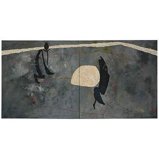 Zhou Brothers, Untitled (diptych), 1987