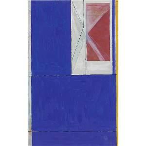 Richard Diebenkorn, Blue from The Ocean Park …