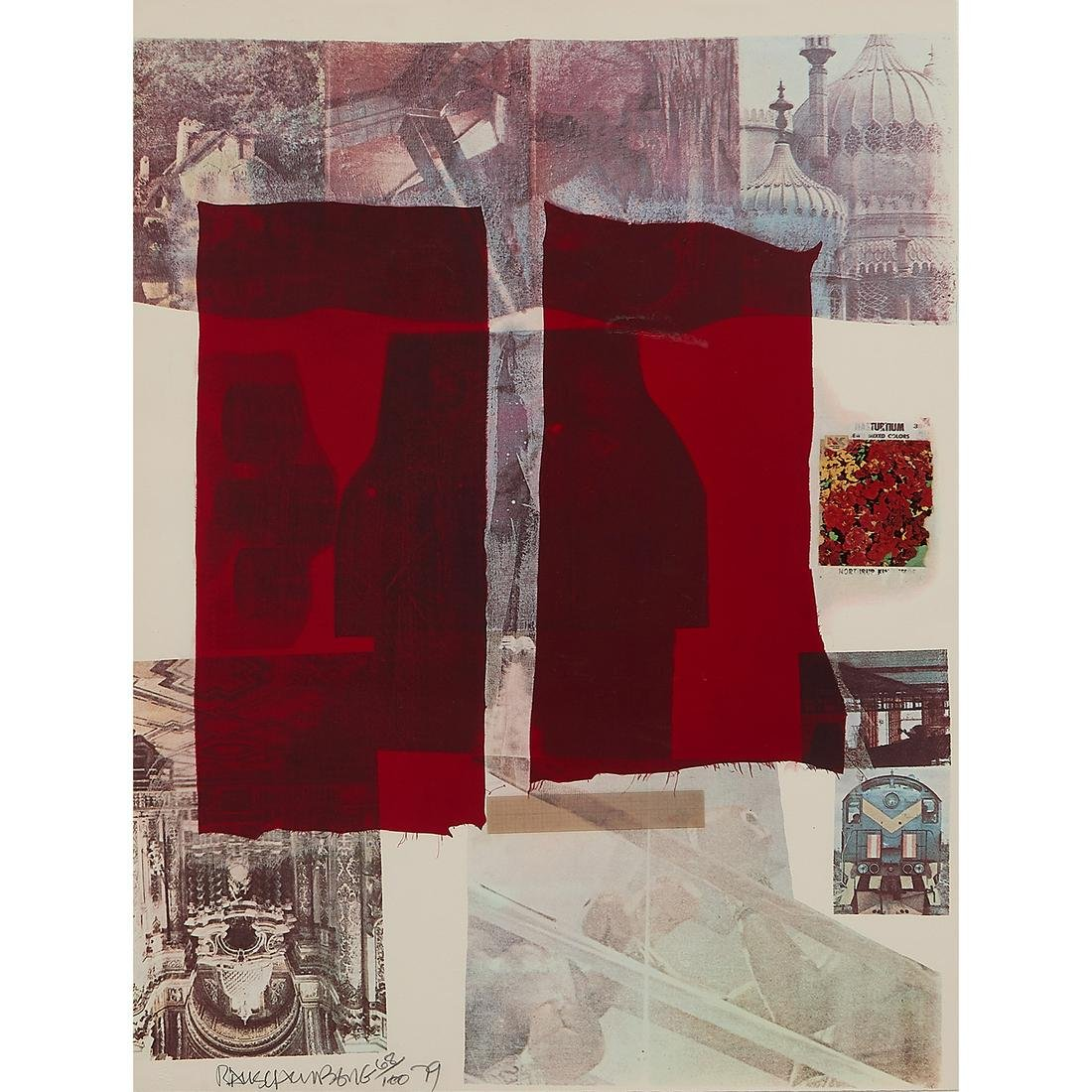 Robert Rauschenberg, Why You Can't Tell #II