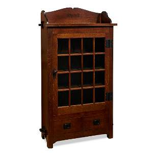The Roycrofters rare bookcase, similar to #83