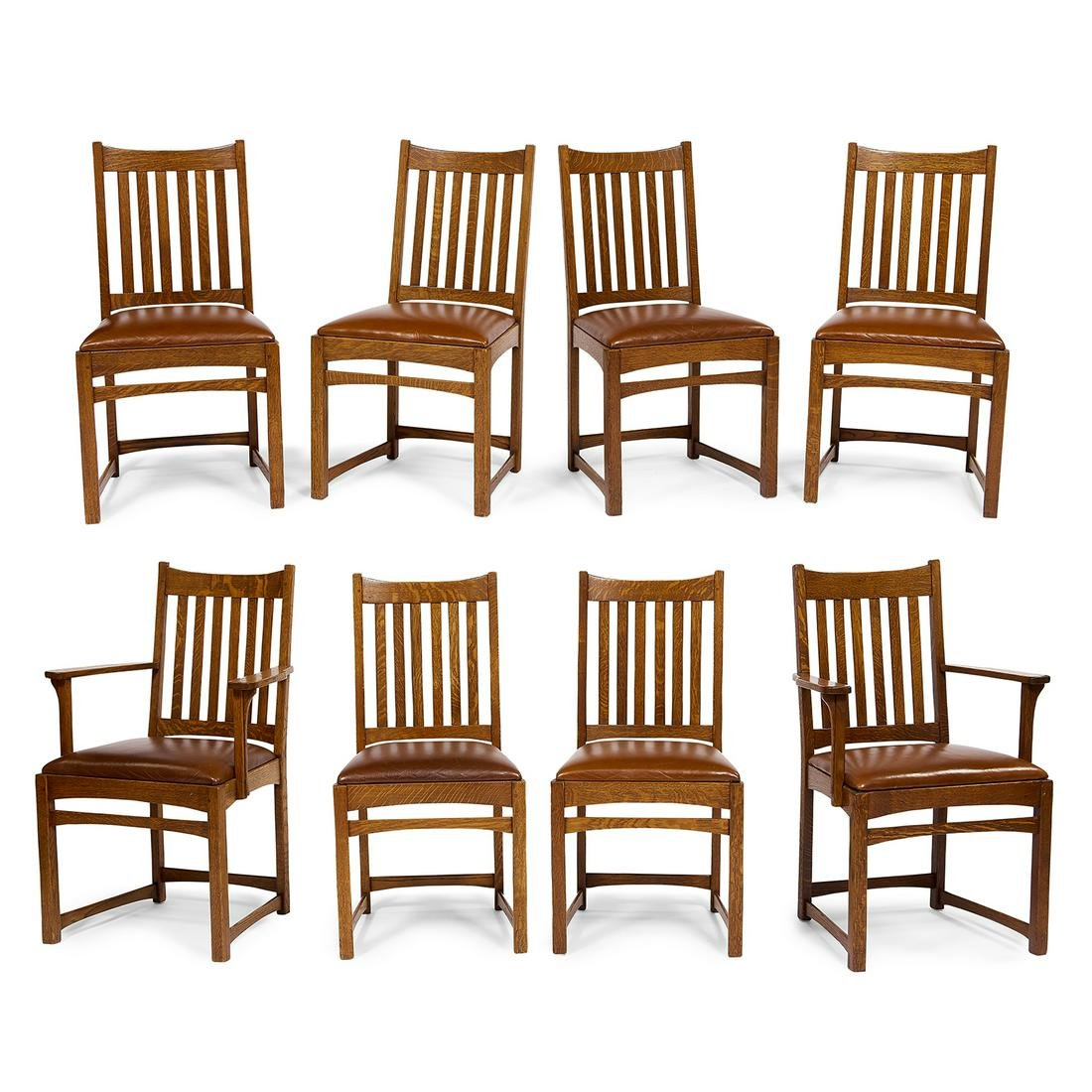 Lifetime Puritan Motif dining chairs set of eight
