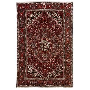 Persian Baktari area rug