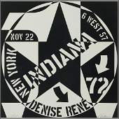 Robert Indiana, Galerie Denise René…, 1970