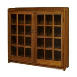 Gustav Stickley two-door bookcase, #719