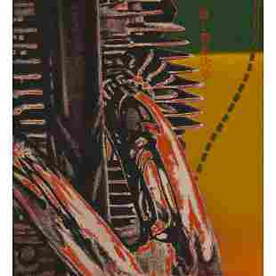 Ed Paschke, Speed Freak, 1969, oil on canvas