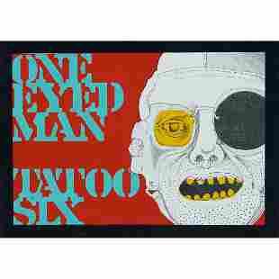 Ed Flood, One-Eyed Man, Tatoo Six, 1965