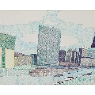 Wesley Willis, Skyline of Chicago, 1987
