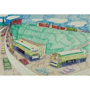 Wesley Willis, The Dan Ryan Expressway, Root St