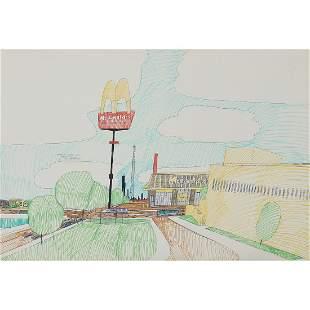 Wesley Willis, The Chicago Skyline, Wells…
