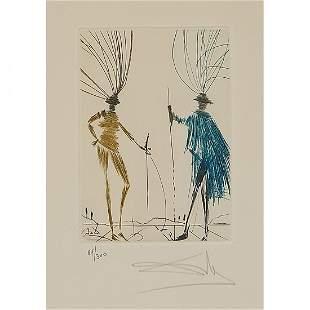 Salvador Dalí, The Two Gentleman of Verona…,