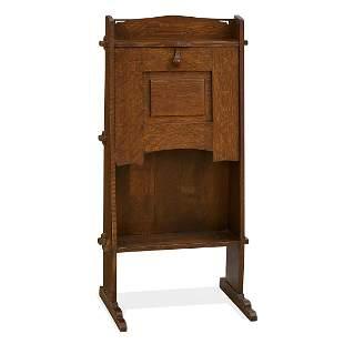 Gustav Stickley early chalet desk, #505
