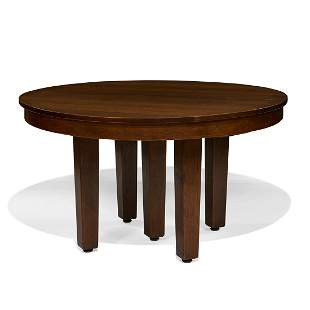 L. & J.G. Stickley dining table, #720