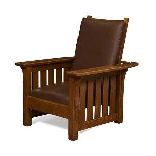 L. & J.G. Stickley Morris chair