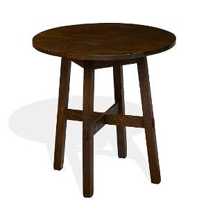 Stickley Brothers drink table, #2864