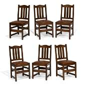 Attributed to Stickley Brothers dining chairs, 6