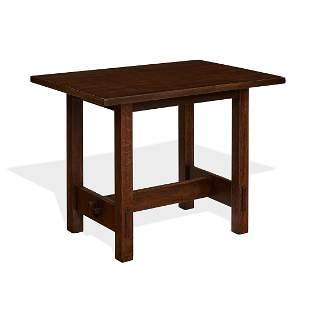 Gustav Stickley early lunch table, #424