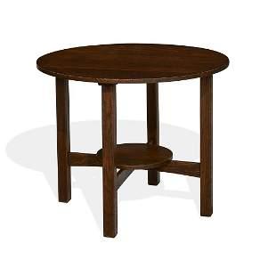 L. & J.G. Stickley lamp table, #579