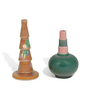 Roseville Pottery Co. group of 2
