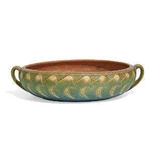 Roseville Pottery Co Falline low bowl