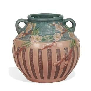 Roseville Pottery Co. Cherry Blossom vase