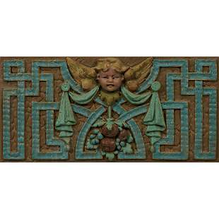 Rookwood Pottery architectural tile
