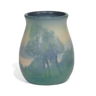 Sallie Coyne for Rookwood Pottery scenic vase