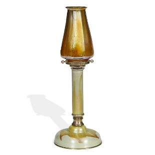 Tiffany Glass & Decorating Company candlestick